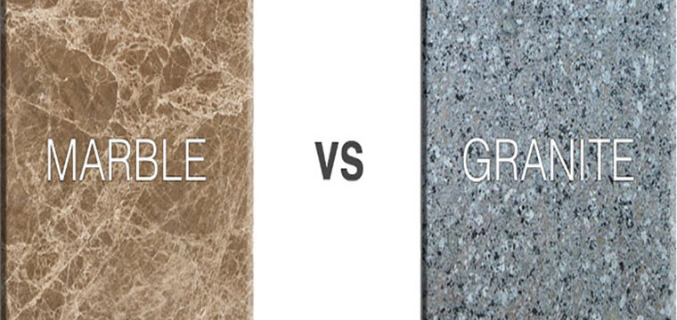 What is the difference between marble and granite?